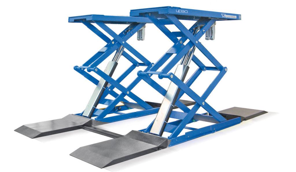 Ponte sollevatore a doppia forbice 4 effemme lifts for Ponte sollevatore a forbice